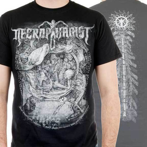 T-Shirt - Necrophagist - Mors-Metalomania