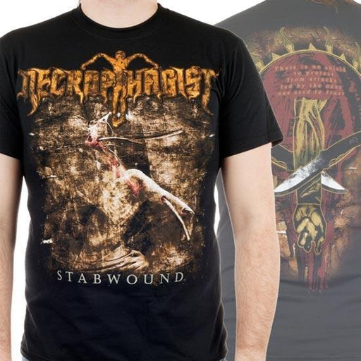 T-Shirt - Necrophagist - Stabwound-Metalomania