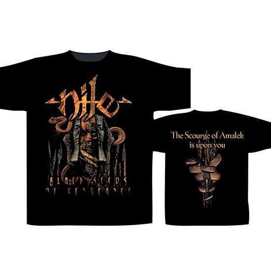 T-Shirt - Nile - Black Seeds-Metalomania