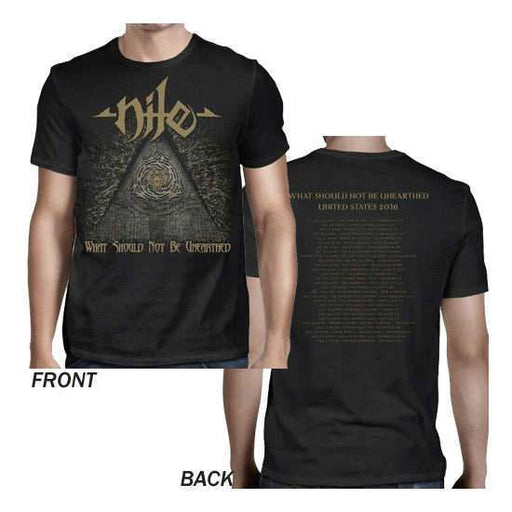 T-Shirt - Nile - Unearthed 2016 Dates-Metalomania