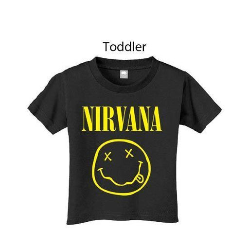 T-Shirt - Nirvana - KC - Smile (Toddler)-Metalomania