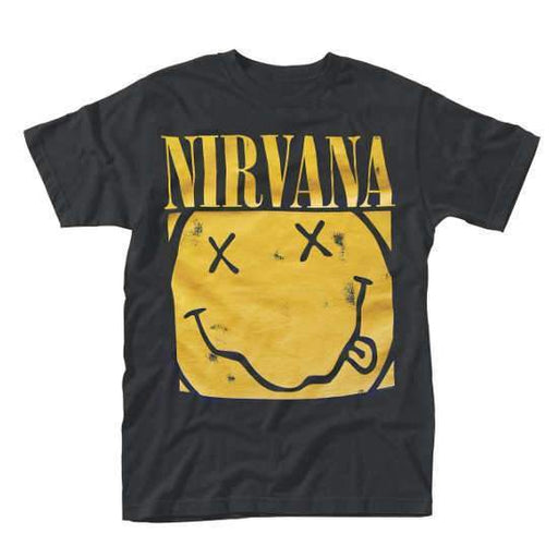 T-Shirt - Nirvana / KC - Box Smiley-Metalomania