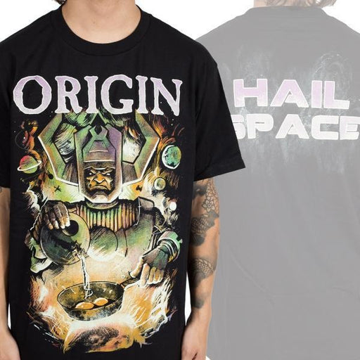 T-Shirt - Origin - Hail Space-Metalomania