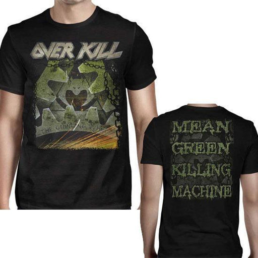 T-Shirt - Overkill - Mean Green Killing Machine-Metalomania