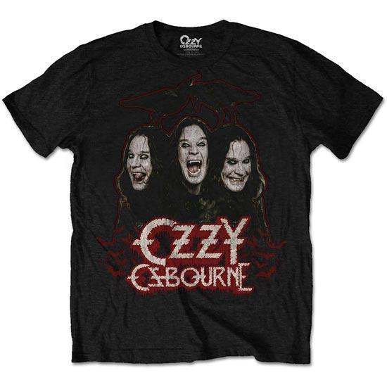 T-Shirt - Ozzy Osbourne - Crows & Bars-Metalomania