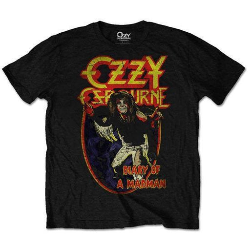 T-Shirt - Ozzy Osbourne -  Diary of a Mad Man