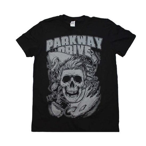 T-Shirt - Parkway Drive - Surfer Skull