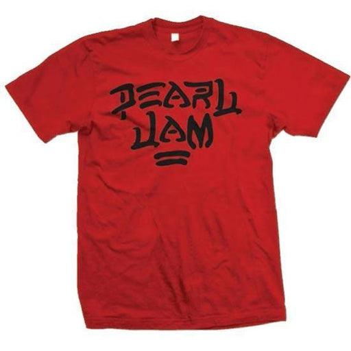 T-Shirt - Pearl Jam - Destroy (red)-Metalomania
