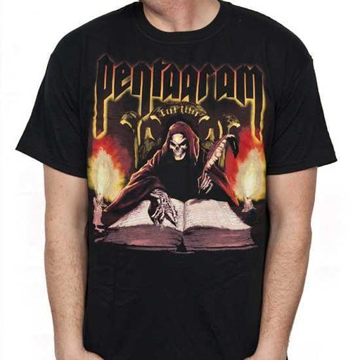 T-Shirt - Pentagram - Last Rites-Metalomania