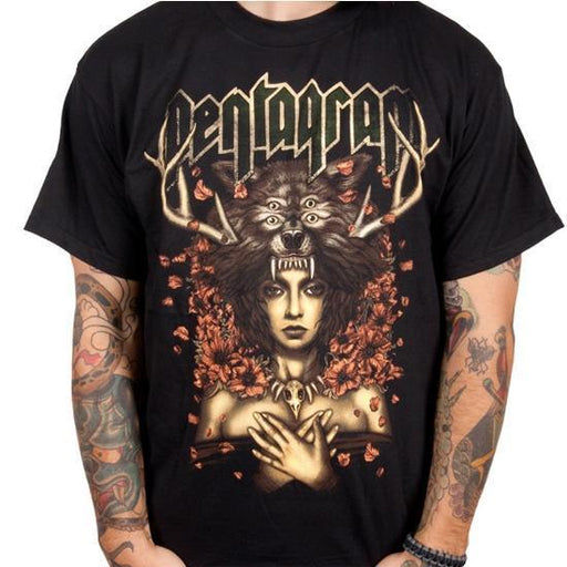 T-Shirt - Pentagram - Priestess-Metalomania