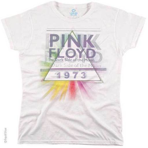 T-Shirt - Pink Floyd - 1973 - White - Lady