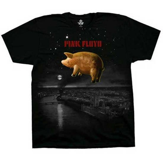 T-Shirt - Pink Floyd - Pig Over London-Metalomania