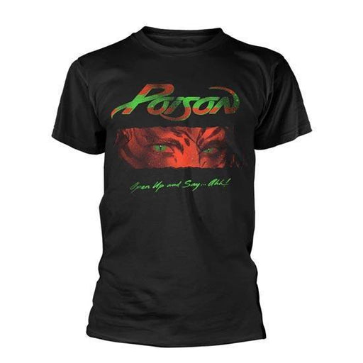 T-Shirt - Poison - Open Up And Say Ahh-Metalomania