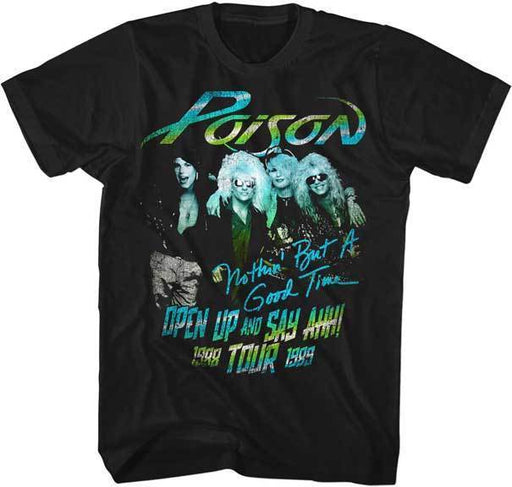 T-Shirt - Poison - Tour-Metalomania