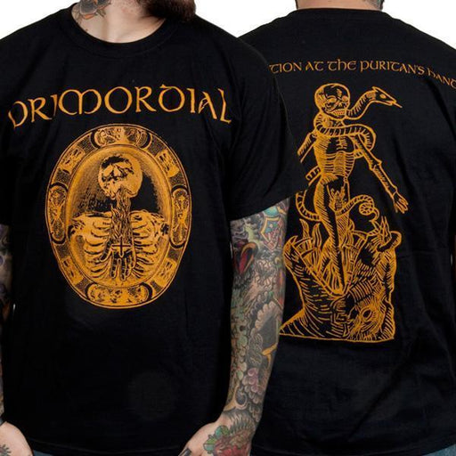 T-Shirt - Primordial - Redemption Puritan's Hand - Black-Metalomania