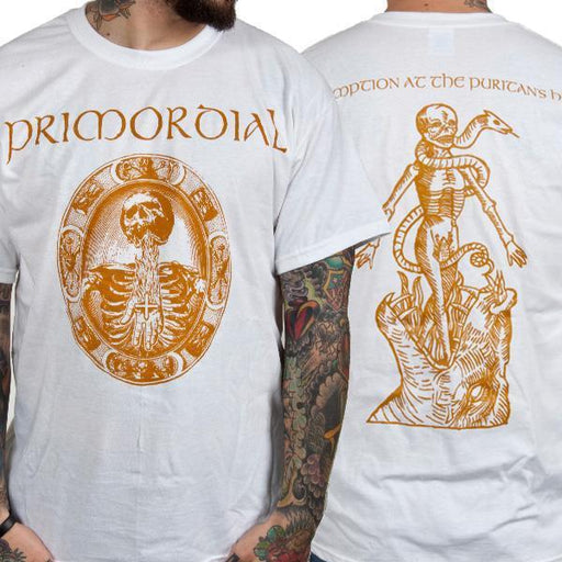 T-Shirt - Primordial - Redemption Puritan's Hand - White