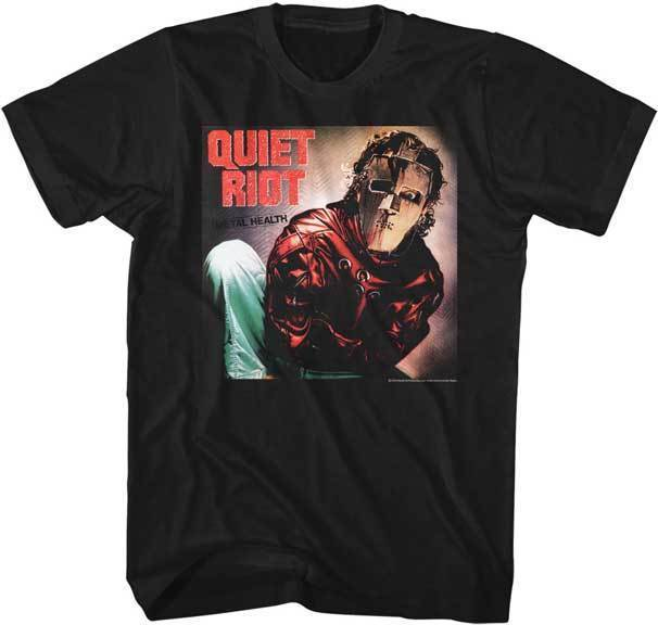T-Shirt - Quiet Riot - Album-Metalomania