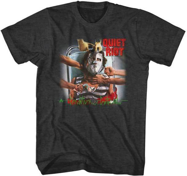 T-Shirt - Quiet Riot - Criticondition-Metalomania