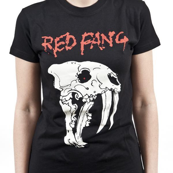 T-Shirt - Red Fang - Fang - Lady-Metalomania