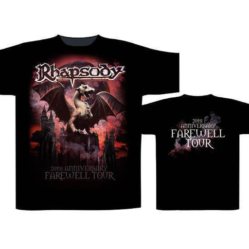 T-Shirt - Rhapsody of Fire - 20th Anniversary-Metalomania