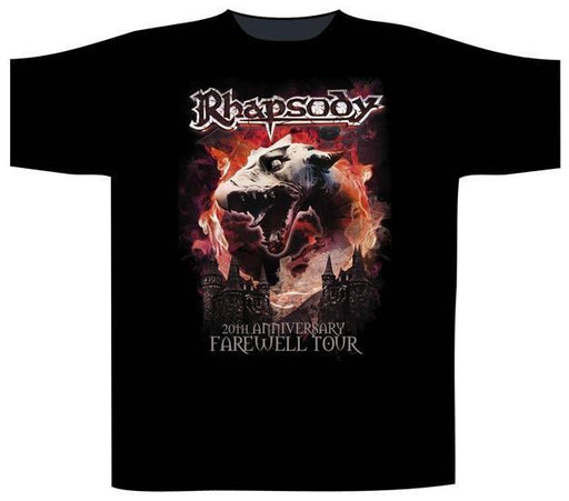 T-Shirt - Rhapsody of Fire - Dragon Head-Metalomania