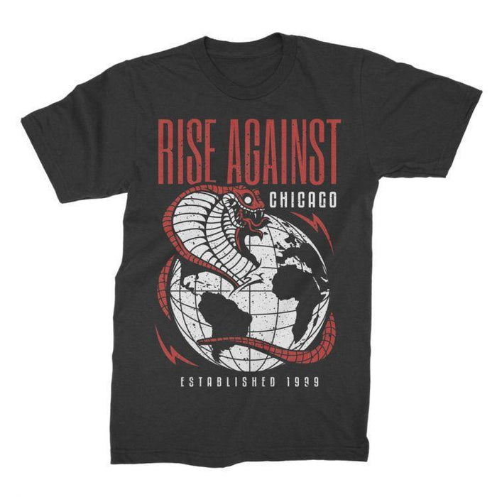 T-Shirt - Rise Against - Cobra-Metalomania