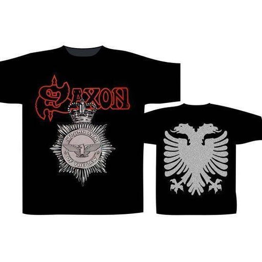 T-Shirt - Saxon - Strong Arm of the Law-Metalomania