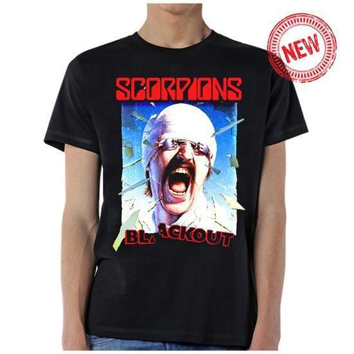 T-Shirt - Scorpions - Blackout Cover-Metalomania