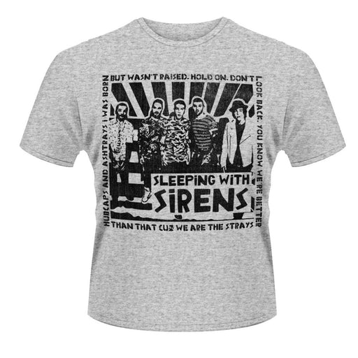 T-Shirt - Sleep With Sirens - Clipping-Metalomania