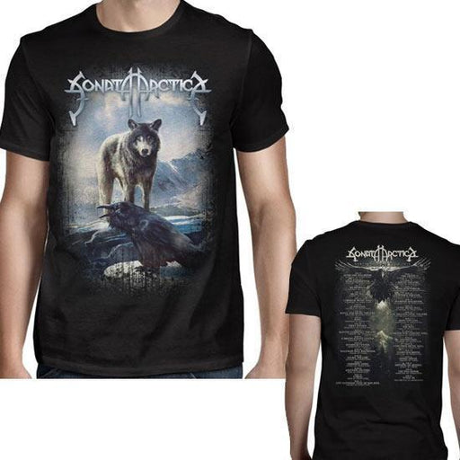 T-Shirt - Sonata Arctica - Pariah Tour Dates-Metalomania