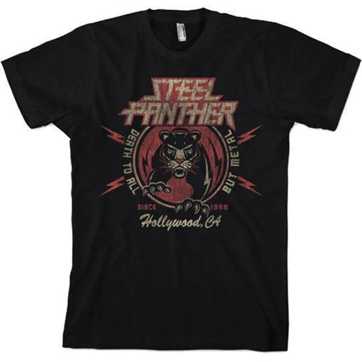 T-Shirt - Steel Panther -  Death to All but Metal