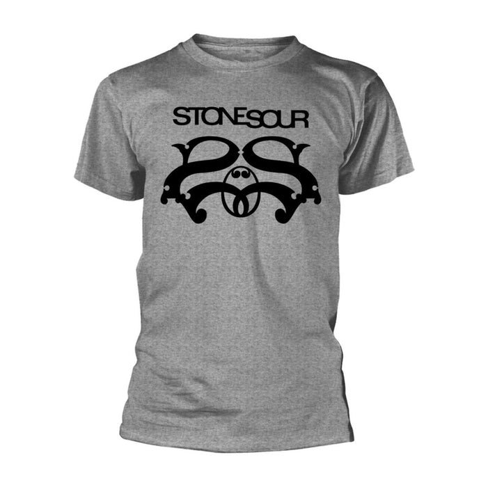 T-Shirt - Stone Sour - Logo - Grey-Metalomania