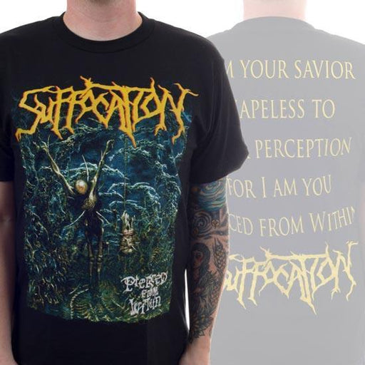 T-Shirt - Suffocation - Pierced from Within - V2-Metalomania