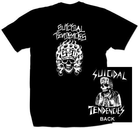 T-Shirt - Suicidal Tendencies - OG Flip Skull