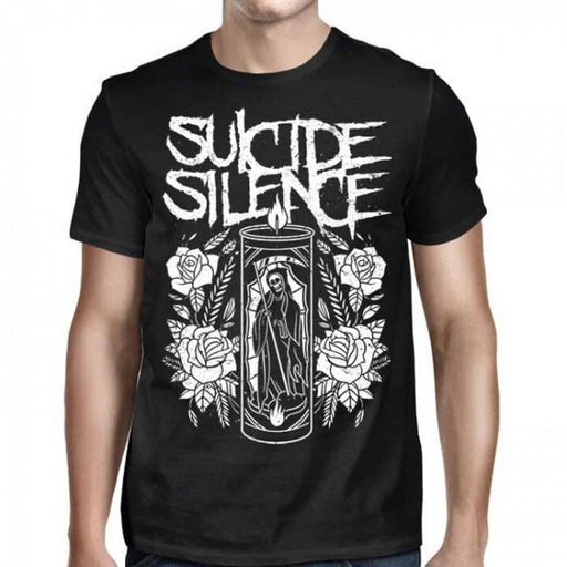 T-Shirt - Suicide Silence - Grim Reaper Candle-Metalomania