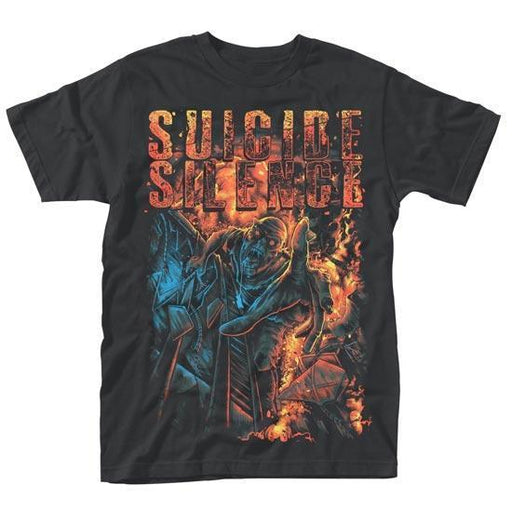T-Shirt - Suicide Silence - Zombie ANGST-Metalomania