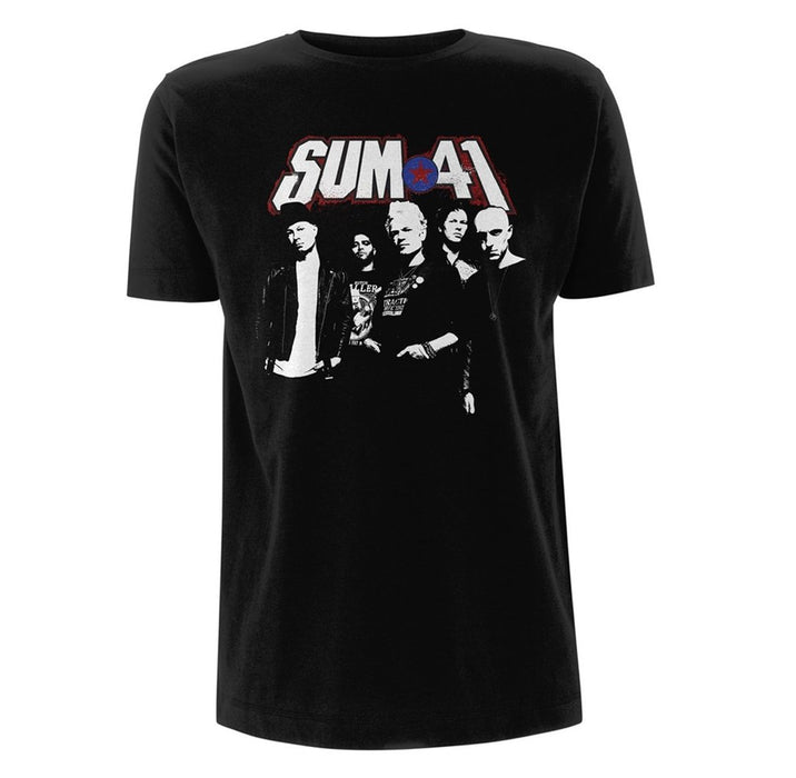 T-Shirt - Sum 41 - Photo Portrait-Metalomania