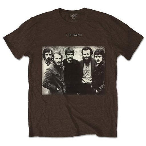 T-Shirt - The Band - Group Photo - Brown