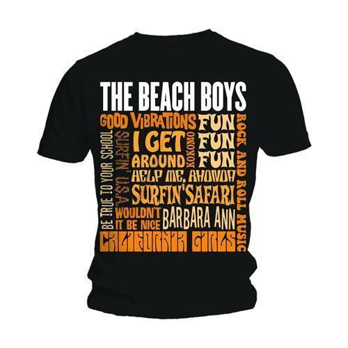 T-Shirt - The Beach Boys - Best of SS