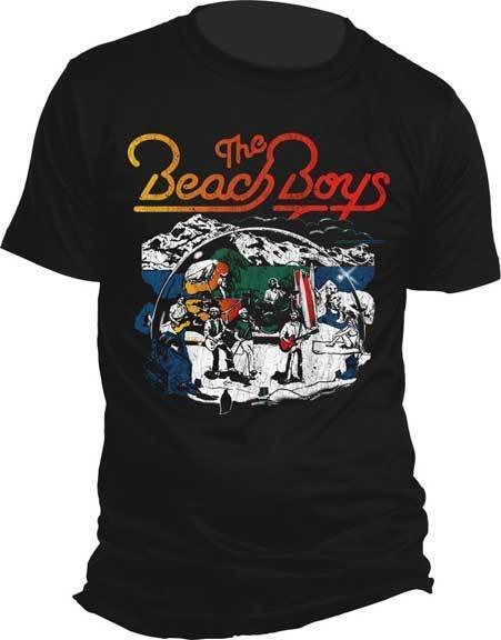 T-Shirt - The Beach Boys - Living Dreams