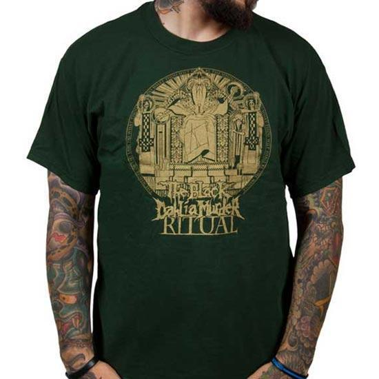 T-Shirt - The Black Dahlia Murder - Ritual Stamp (forest green)-Metalomania