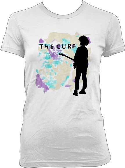 T-Shirt - The Cure - Boys Don't Cry - Lady - White