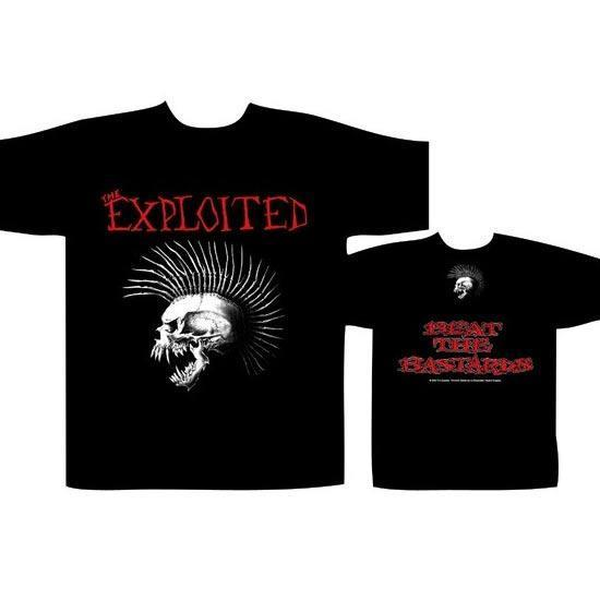 T-Shirt - The Exploited - Beat the Bastards - UK-Metalomania