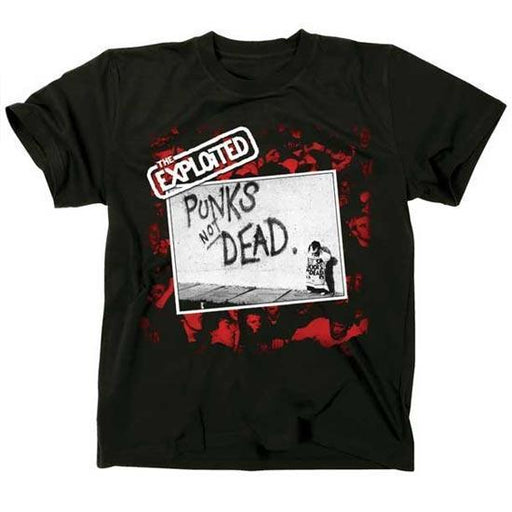 T-Shirt - The Exploited - Punk's Not Dead-Metalomania