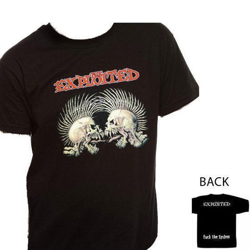 T-Shirt - The Exploited - Fuck The System-Metalomania