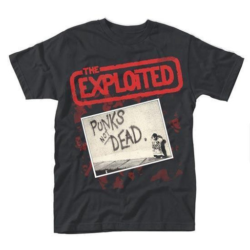 T-Shirt - The Exploited - Punk's Not Dead V2-Metalomania