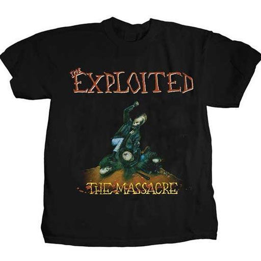 T-Shirt - The Exploited - The Massacre-Metalomania