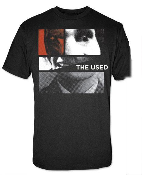 T-Shirt - The Used - Collage Face-Metalomania