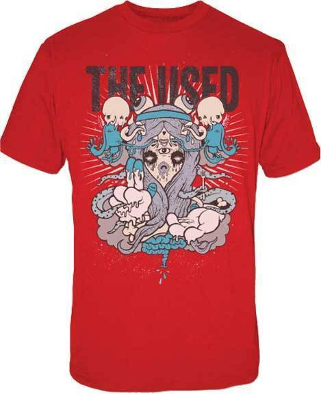 T-Shirt - The Used - Monster Eye - Red