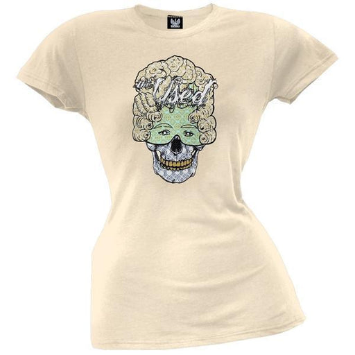 T-Shirt - The Used - Skellmask - Lady - Vintage White